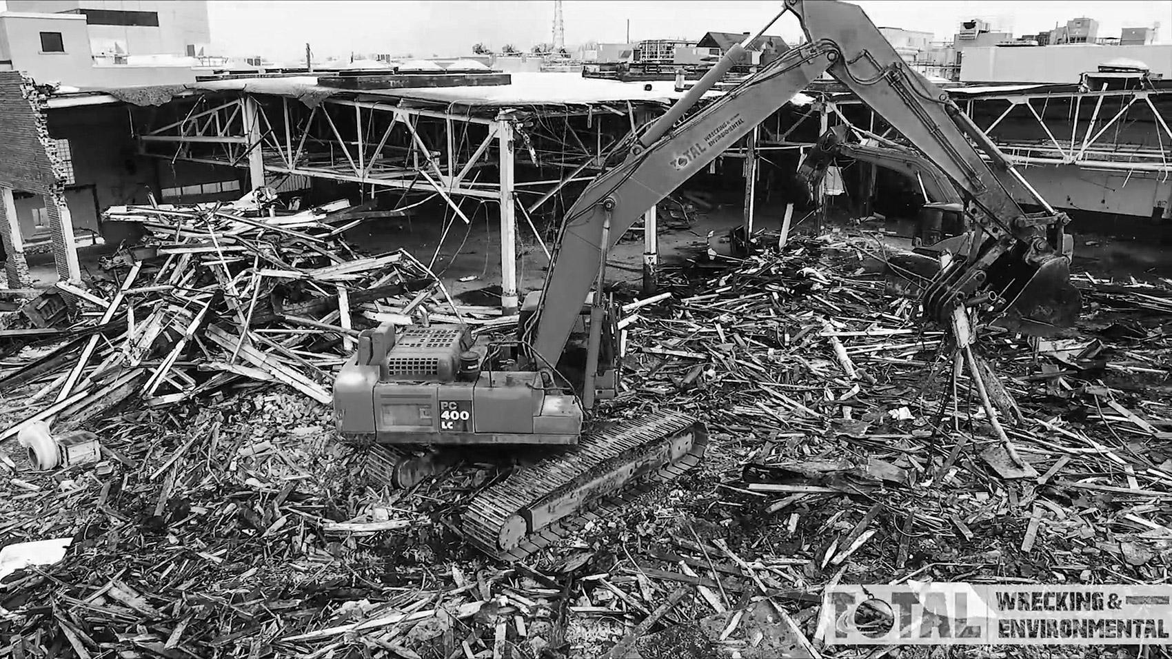 disaster emergency total wrecking environmental